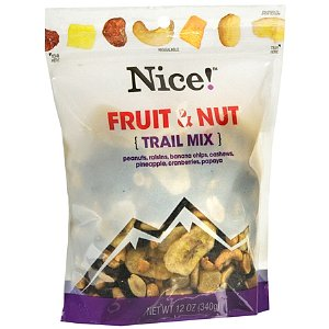 Nice Fruit and Nut mix package 12oz
