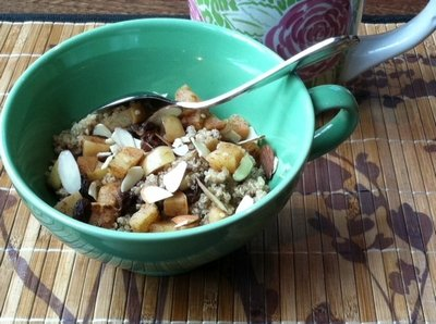 Nutrition Babes Breakfast Apple Cinnamon Quinoa