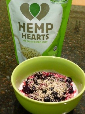 Nutrition Babes Overnight Oats with Greek Yogurt and Berries