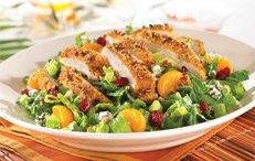 Friday's Pecan Crusted Chicken Salad —crispy pecan-crusted chicken ...