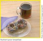 Volume-High energy dense breakfast
