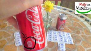 sugar in cola
