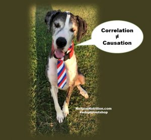 nutrition news, correlation is not causation, science of nutrition, great dane rescue, adopt don't shop